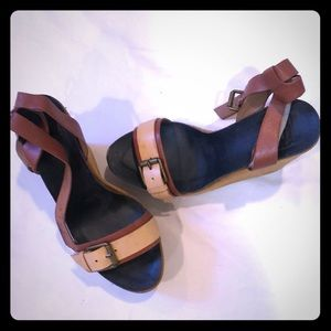 Lucky Brand Wedges, size 8